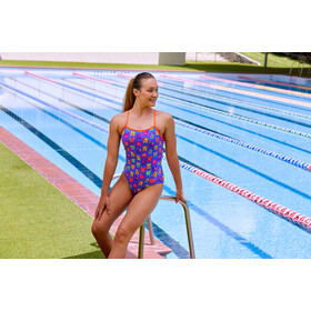 Funkita Single Strap One Piece - Maillot de bain Femme - violet/Multicolore